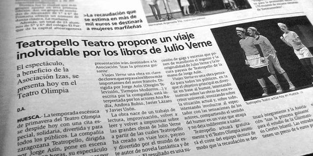 Teatropello en Huesca
