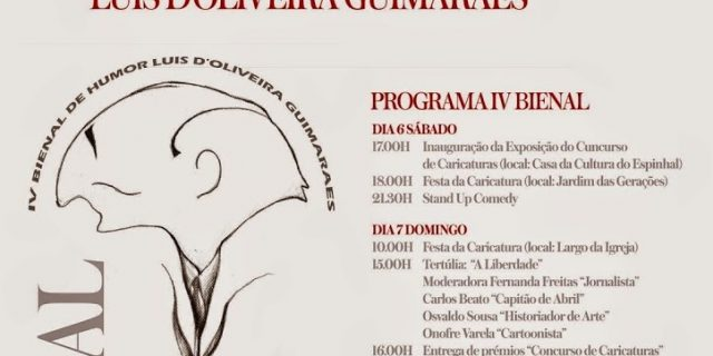 Seleccionado IV Bienal Humor Grafico LOUIS D' Oliveira Guimarães